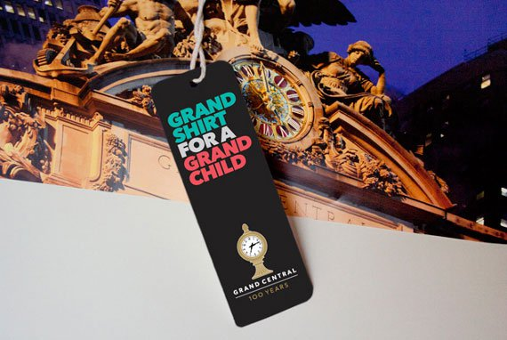 Grand Central Station Anniversary Logo