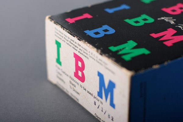 IBM Film Ribbon Packaging