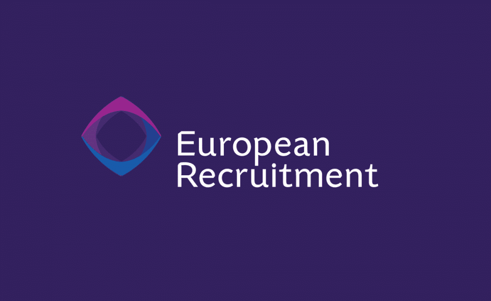 European International Recruitment Logo Designed by The Logo Smith