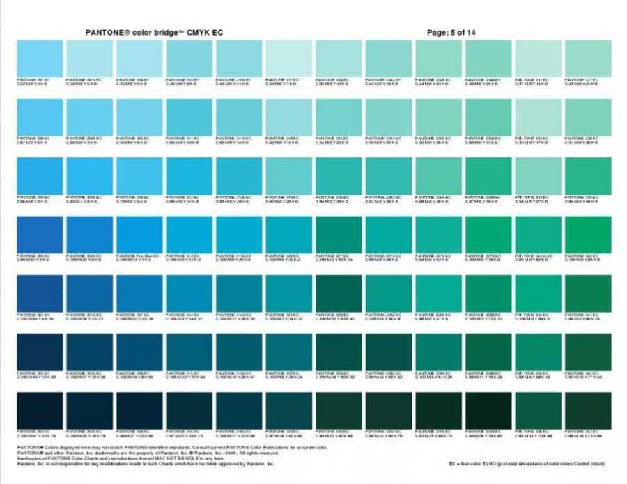 pantone color bridge cmyk ec cheat sheets. Black Bedroom Furniture Sets. Home Design Ideas