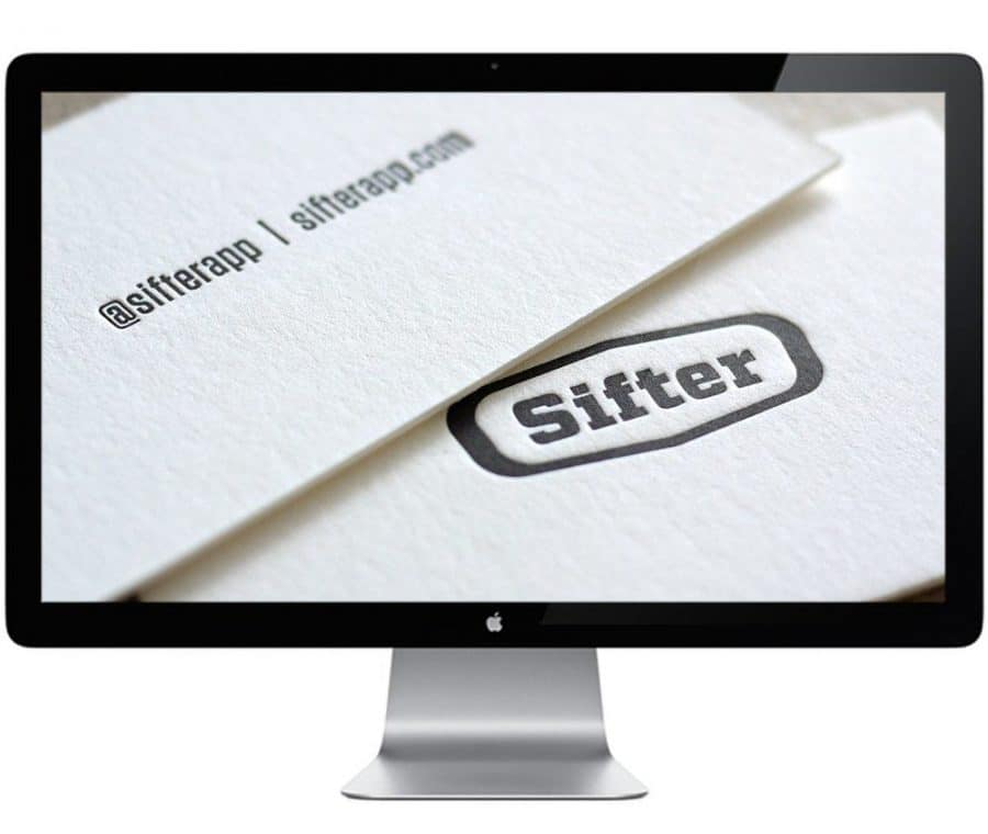 Sifter Letterpress Business Cards