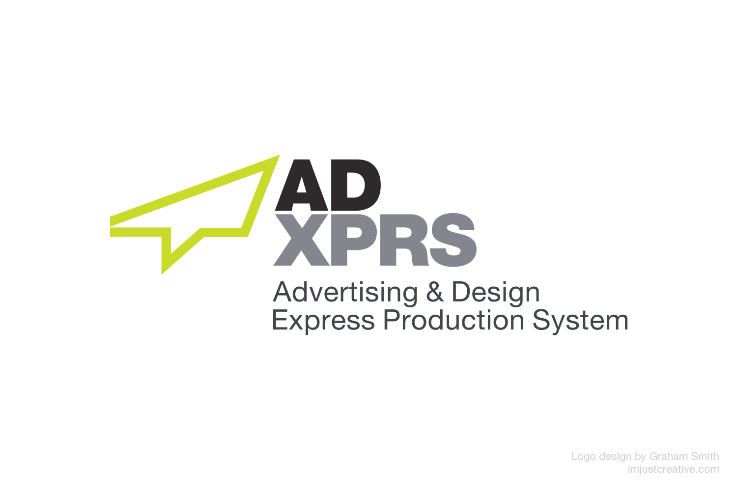 ADXPRS logo design by imjustcreative