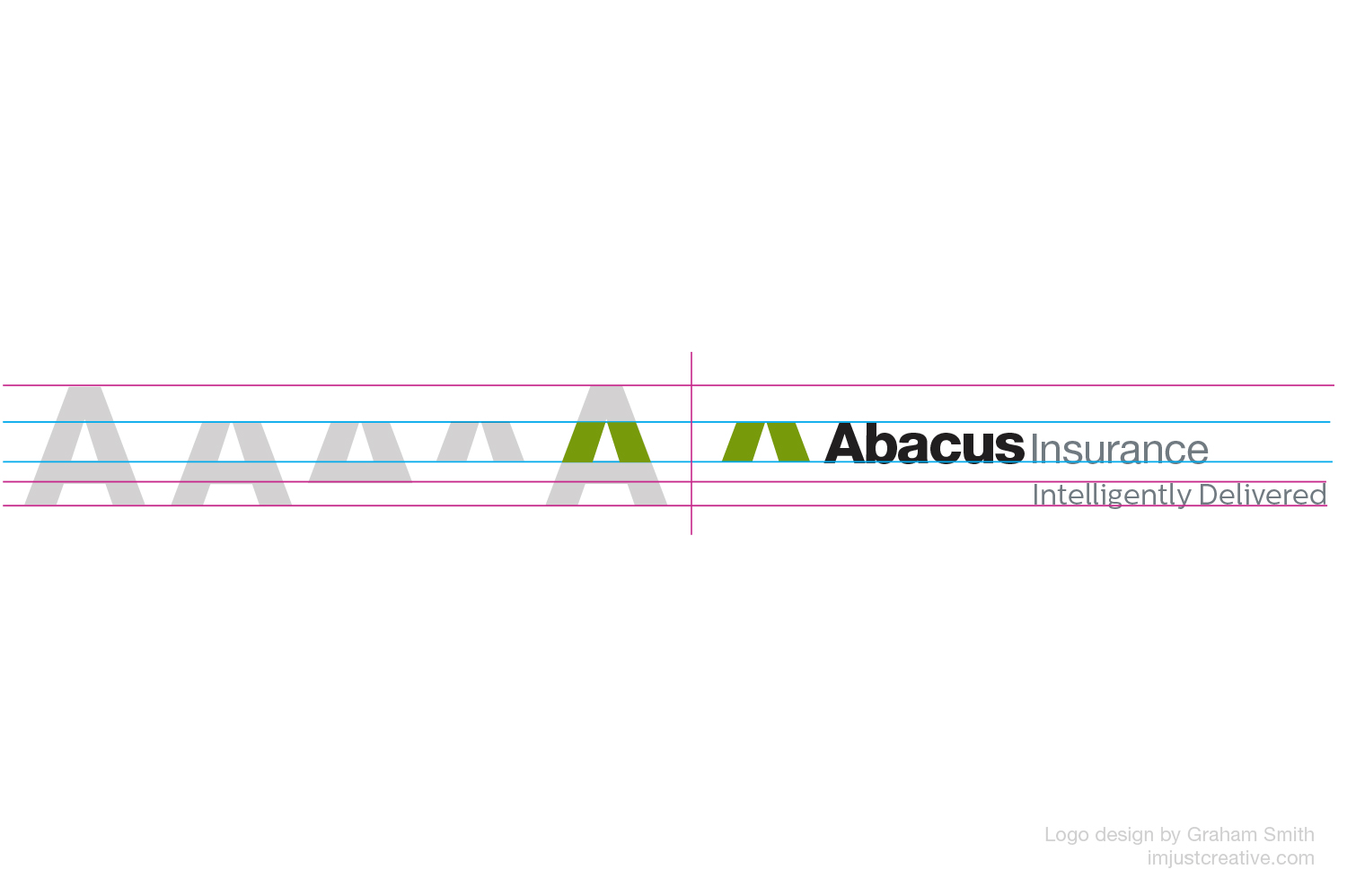 Abacus logo desconstructed