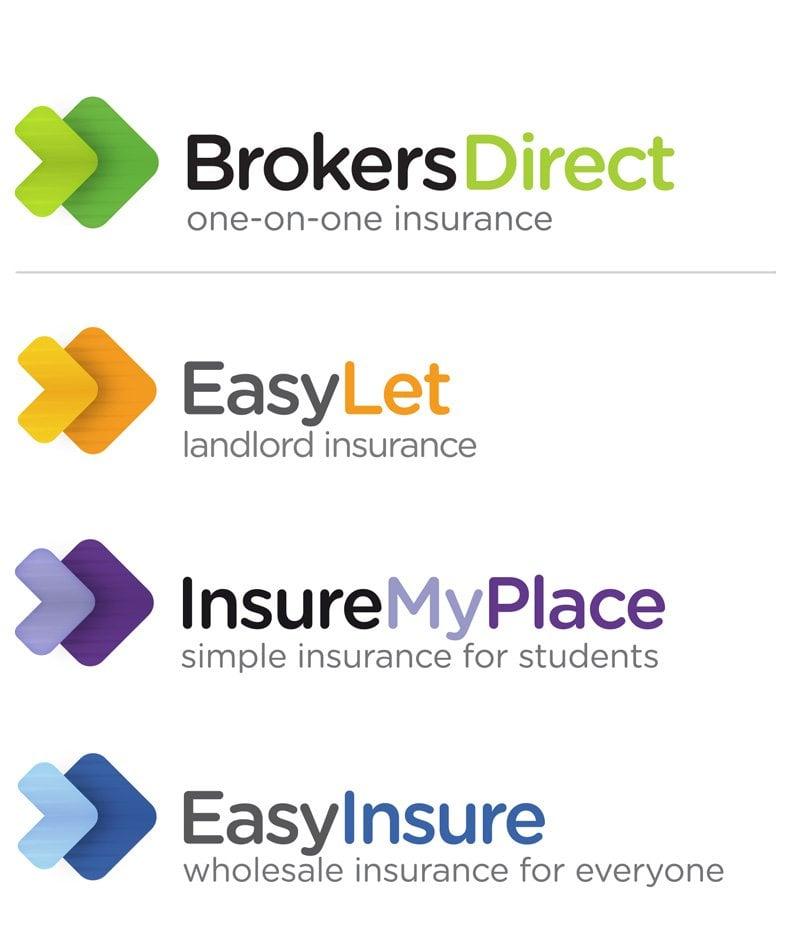Brokers Direct Sub Brand Logo Designs