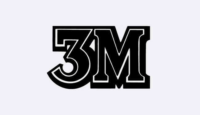 Evolution of the 3M Logo Design - 1942