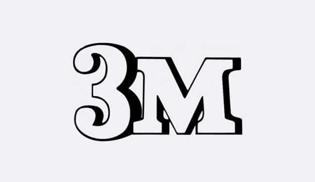 Evolution of the 3M Logo Design - 1951