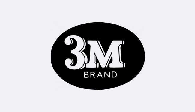 Evolution of the 3M Logo Design - 1952 II
