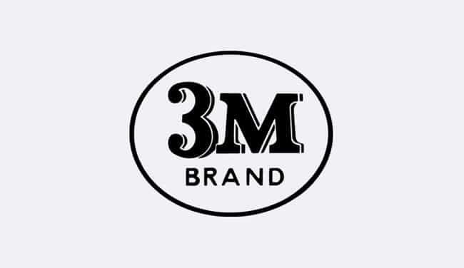 Evolution of the 3M Logo - 1952 III