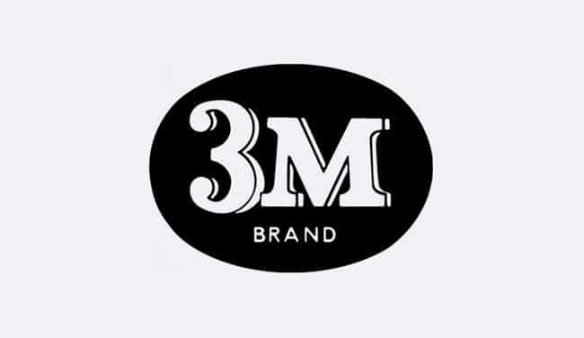 Evolution of the 3M Logo - 1952 IV