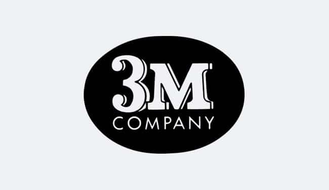 Evolution of the 3M Logo Design - 1954 I