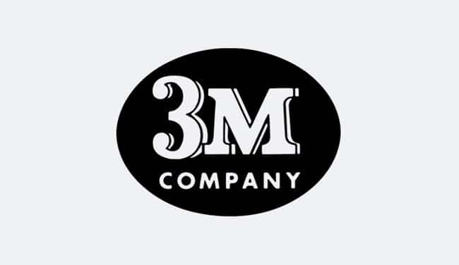 Evolution of the 3M Logo Design - 1954 II