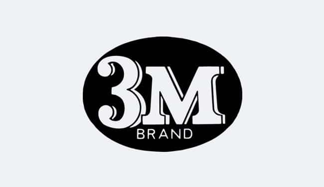 Evolution of the 3M Logo - 1954 III
