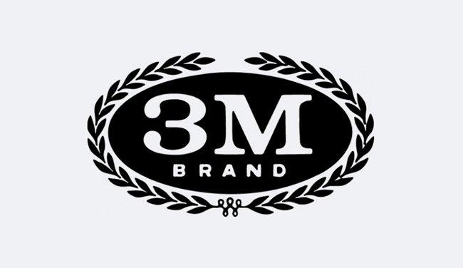 Evolution 3M Logo Design 1958