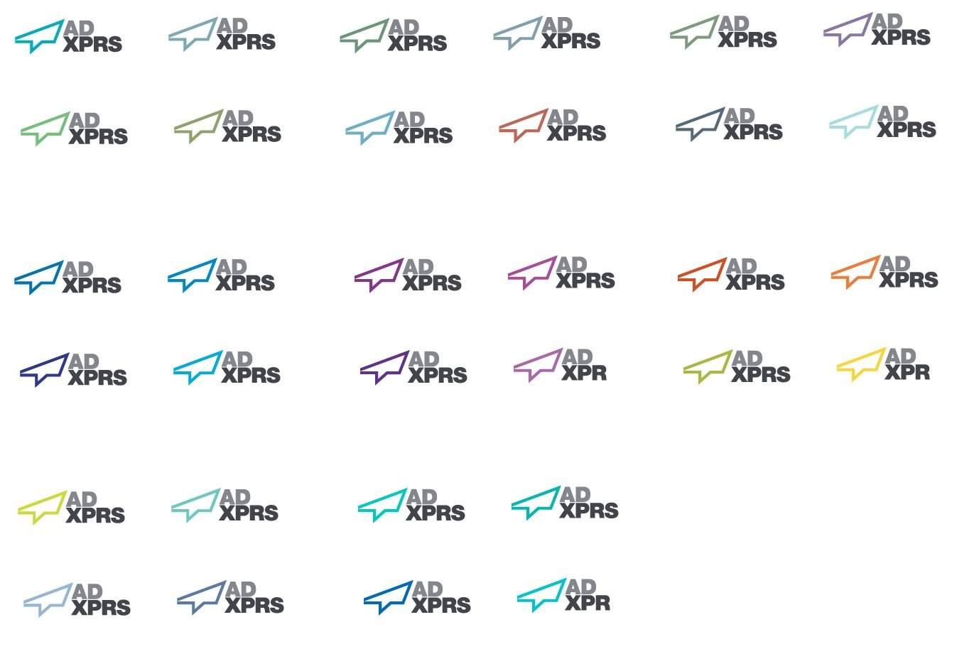 ADXPRS Logo Options