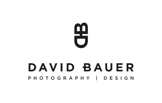 David Bauer Photodesign logo design