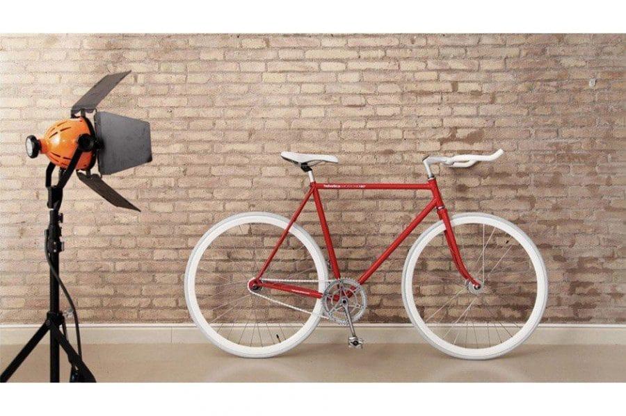 Helvetica Bike by Borja Garcia Studio