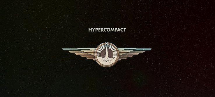 Hypercompact logo design
