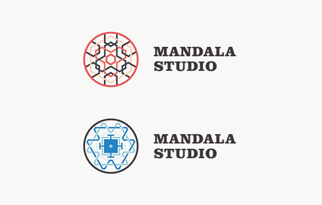 Mandala Studio Logo Design