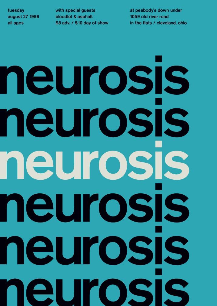 Neurosis Typographic Poster