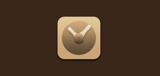 nursing clock ios application icon design