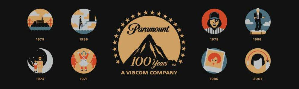 100 Years of Paramount Pictures Icon Selection