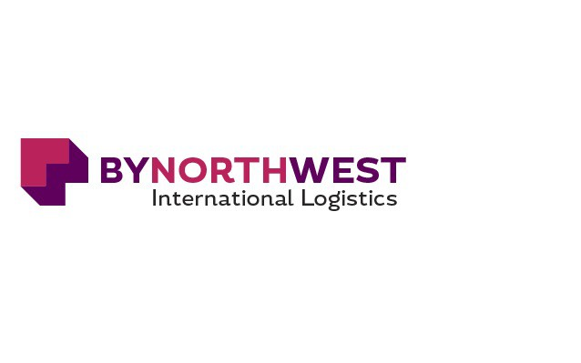 ByNorthWest International Logistics Logo Design