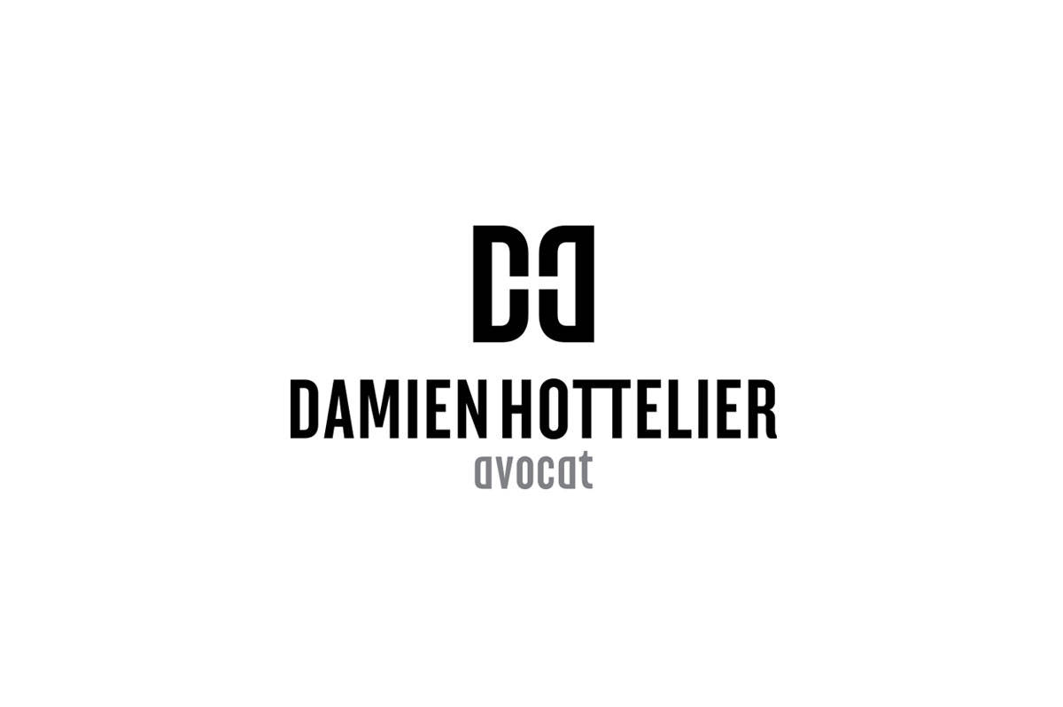 Damien Hottelier Logo Designed by Freelance Logo Designer The Logo Smith.