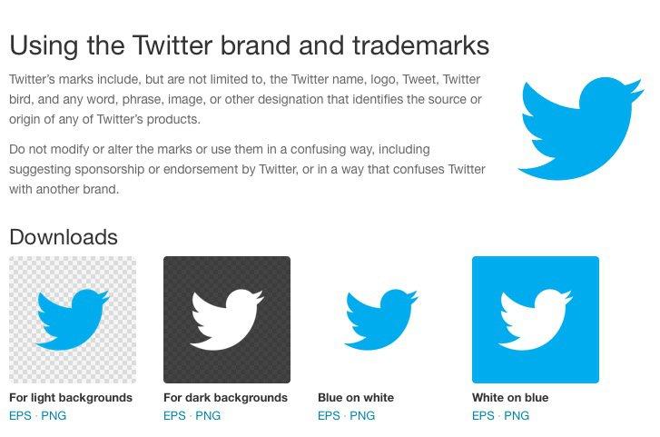 Guideline Logo Twitter Twitter Brand Guidelines