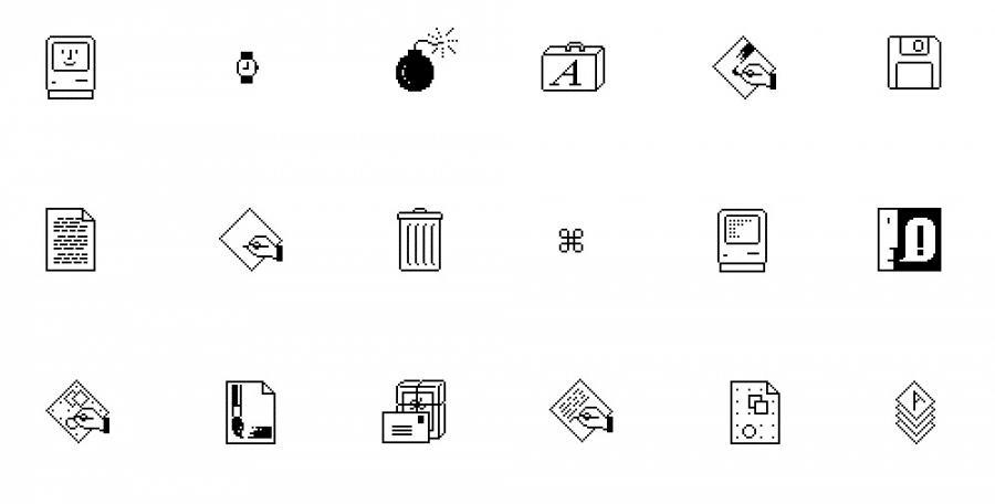 Apple Macintosh Icons