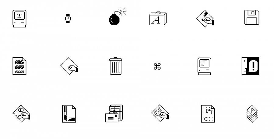 Apple Macintosh Icons