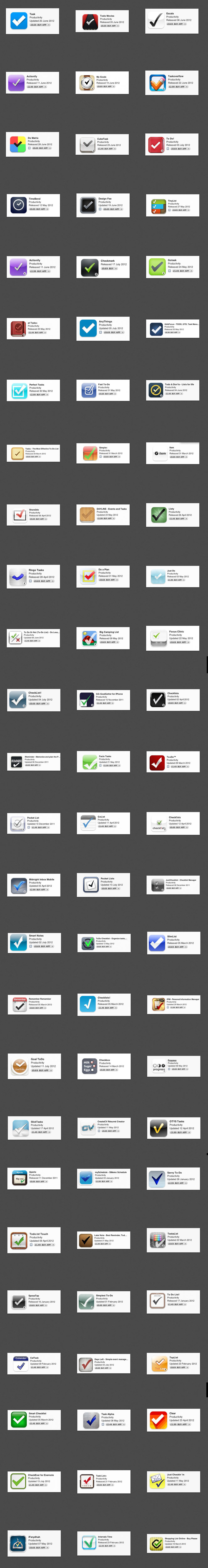 Checkmark App Icon Hall of Shame