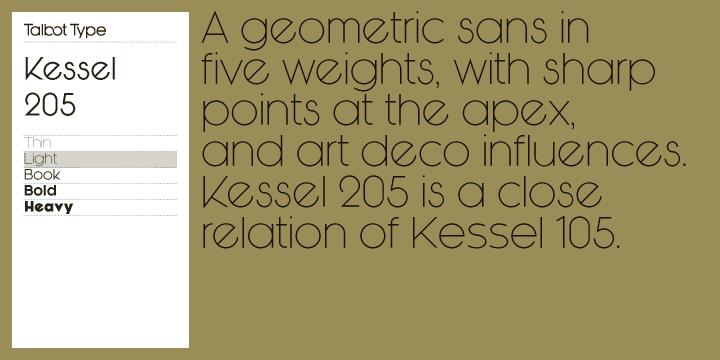 Type hero Kessel 205