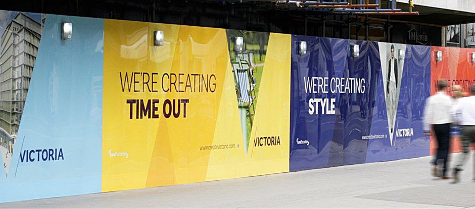 London Victoria Brand Identity by Someone