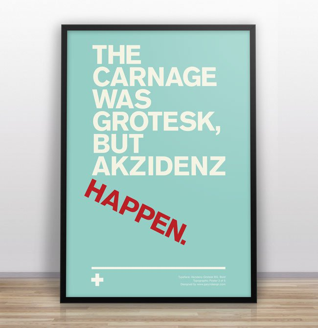 Gary Nicholson Typographic Jokes