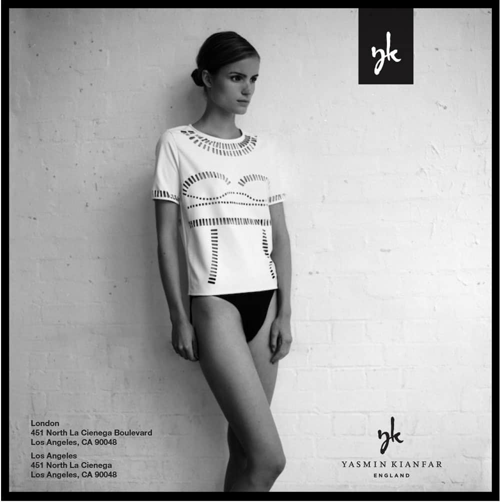 Yasmin Kianfar London Fashion Designer London Logo & Brand Identity Designed by The Logo Smith