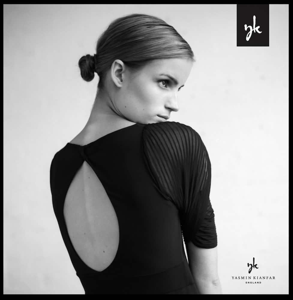 Yasmin London fashion designer model designed by The Logo Smith