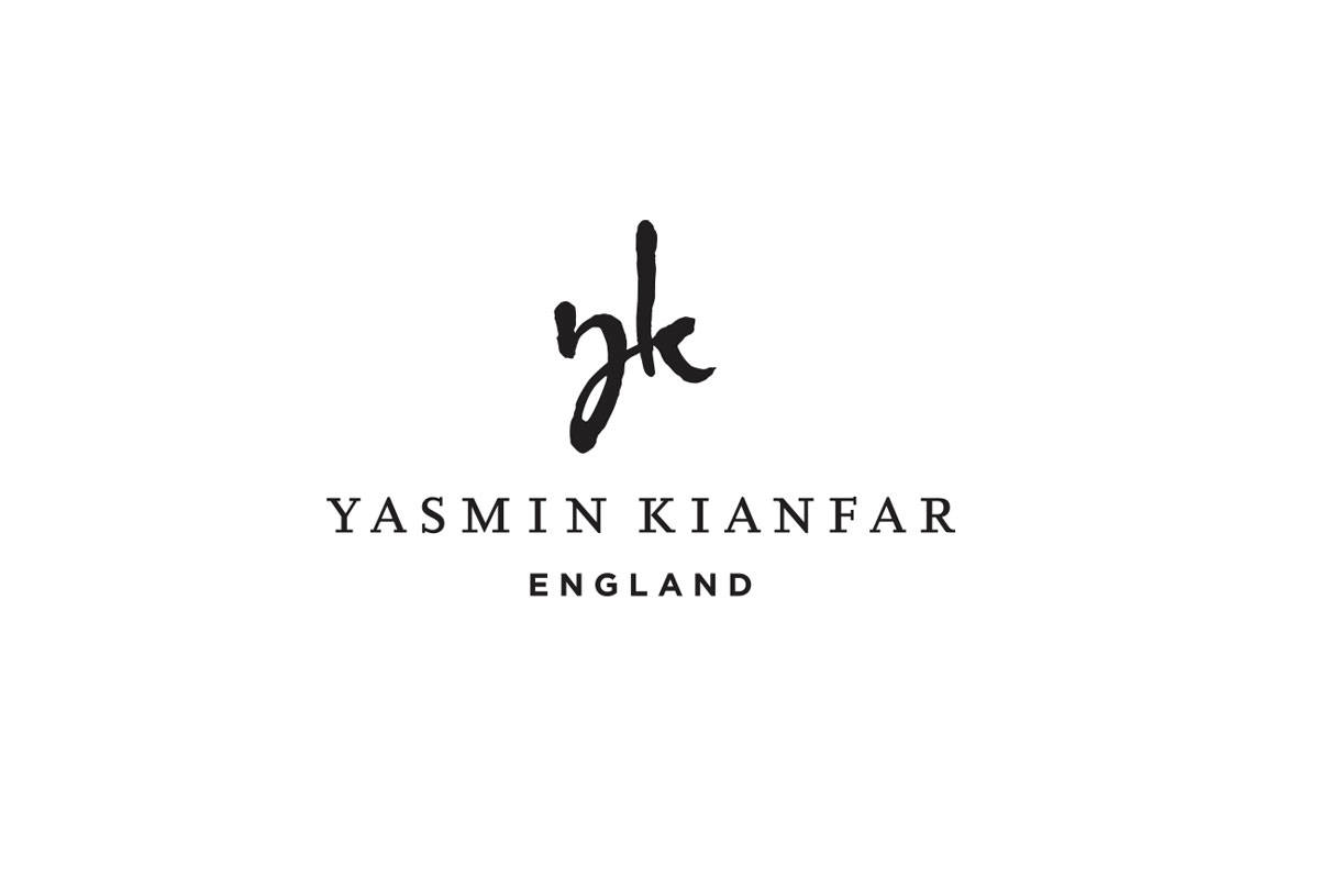 Yasmin Kianfar Fashion Designer Logo Brand Identity Designed by The Logo Smith