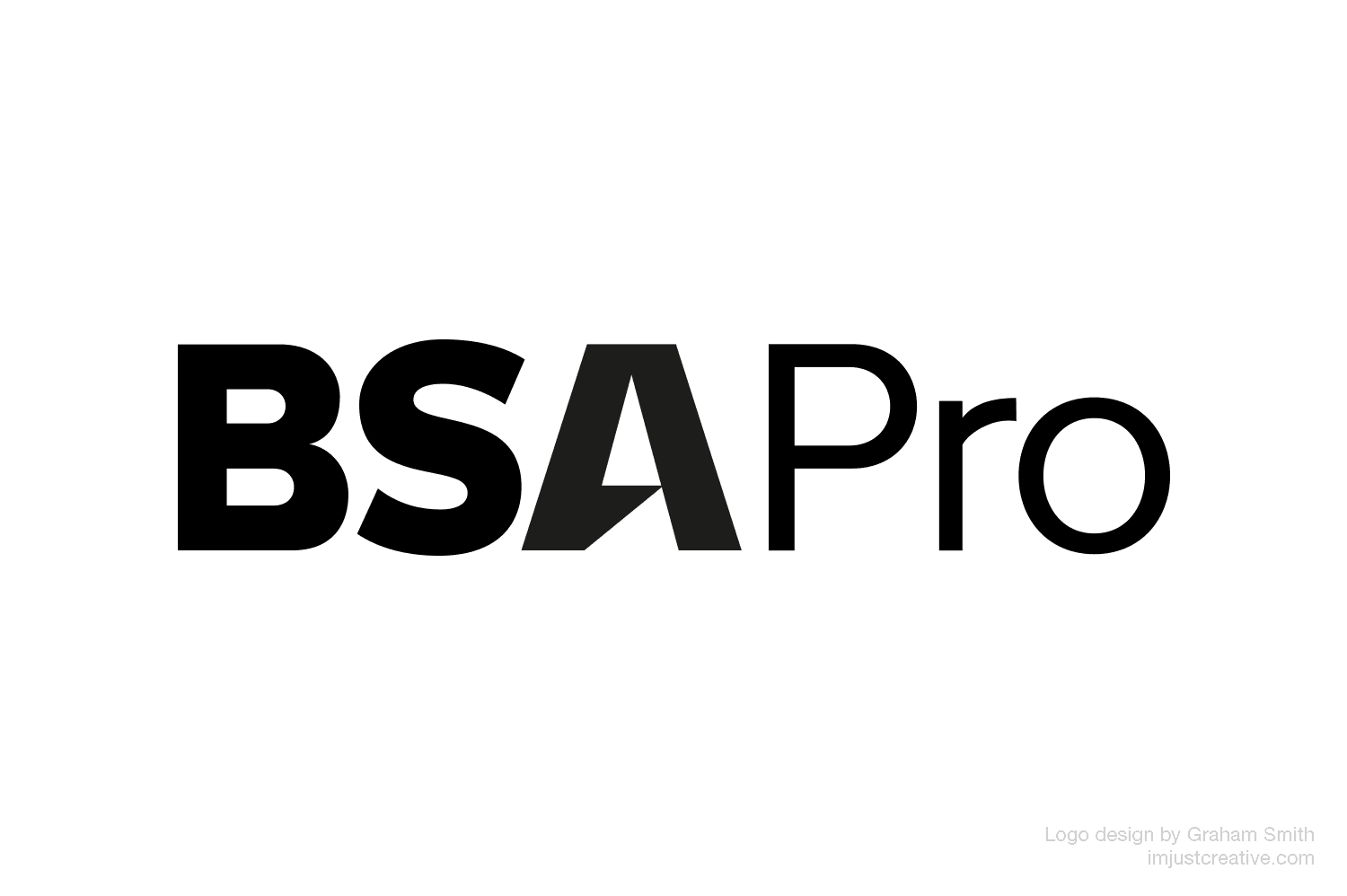BSA Pro logo designed by Graham Smith