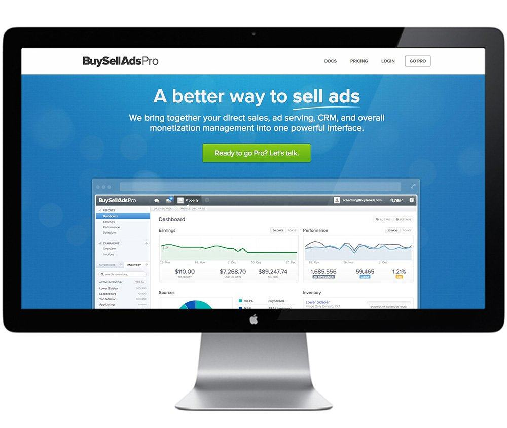 BSA Website Screen