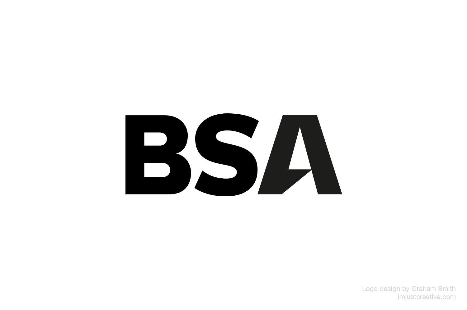 BSA logo designed by Graham Smith