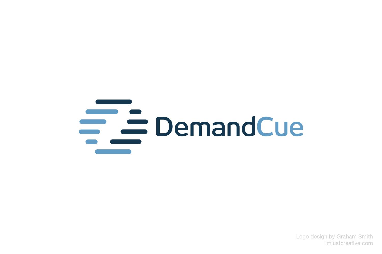 DemandCue logo design