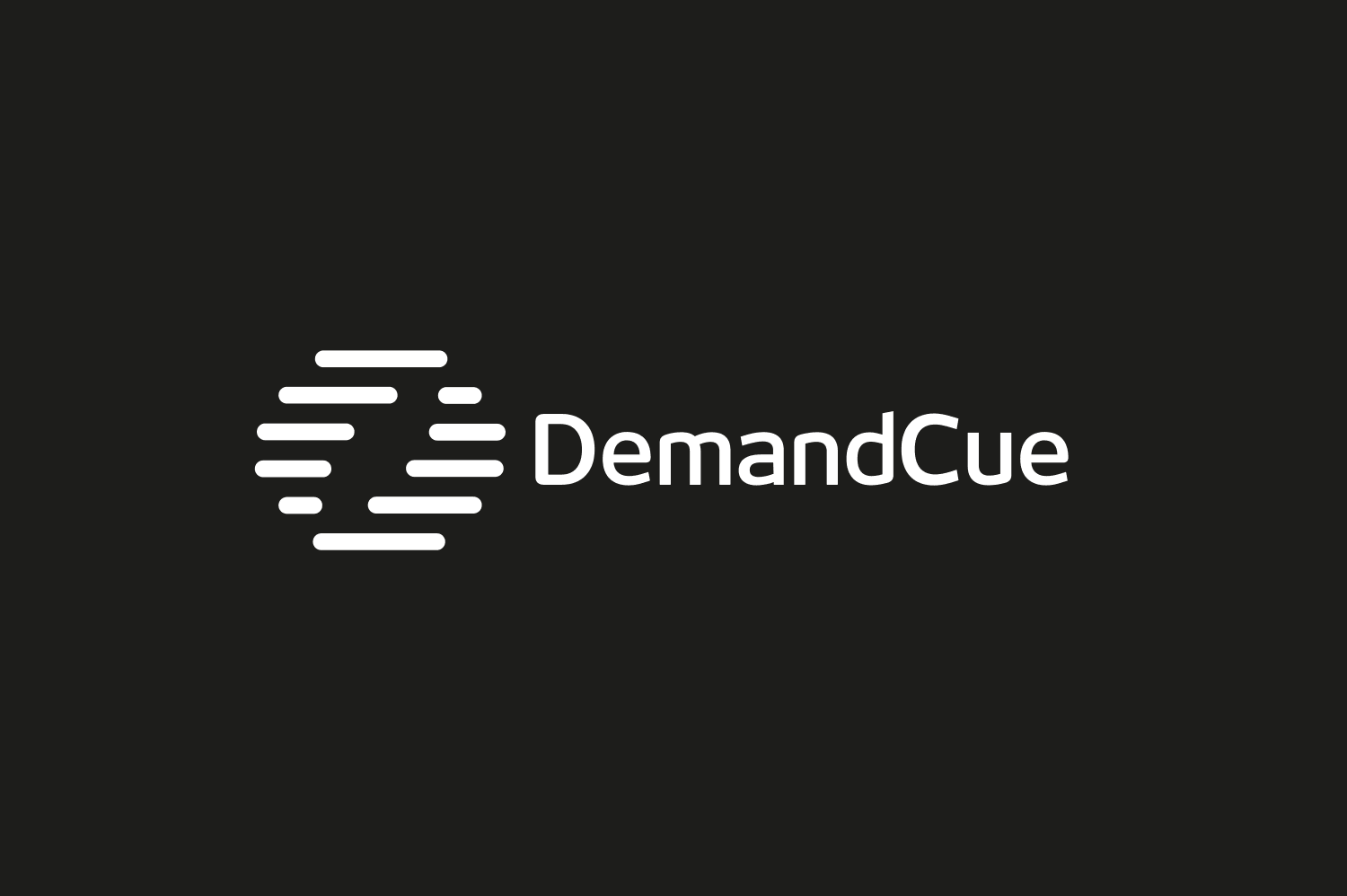 DemandCue logo design