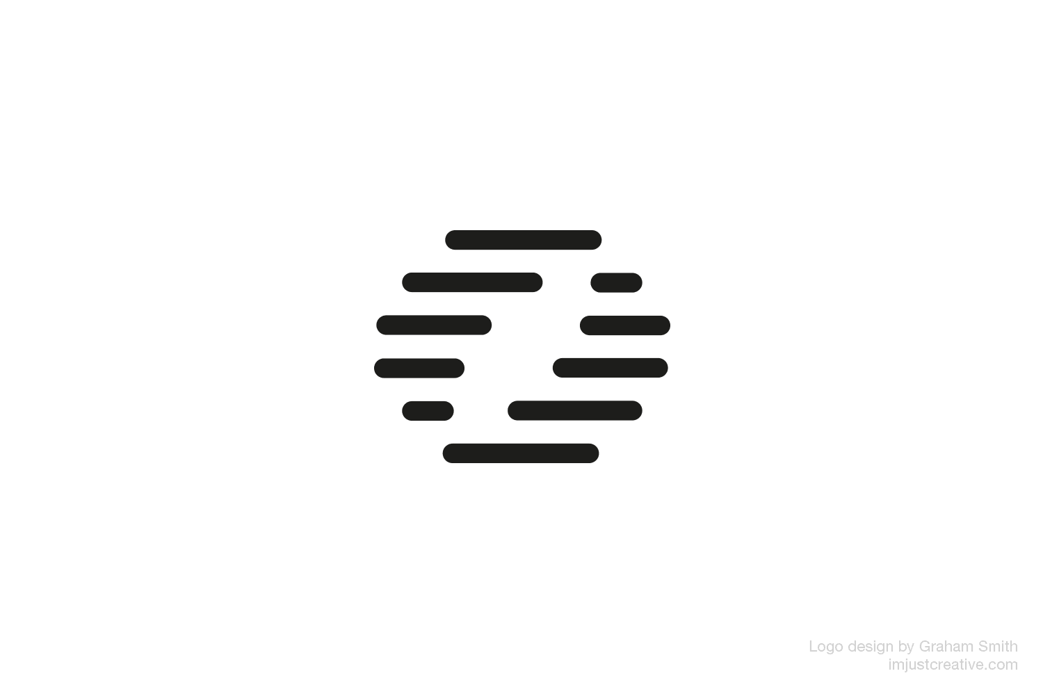 DemandCue logo mark designed by imjustcreative