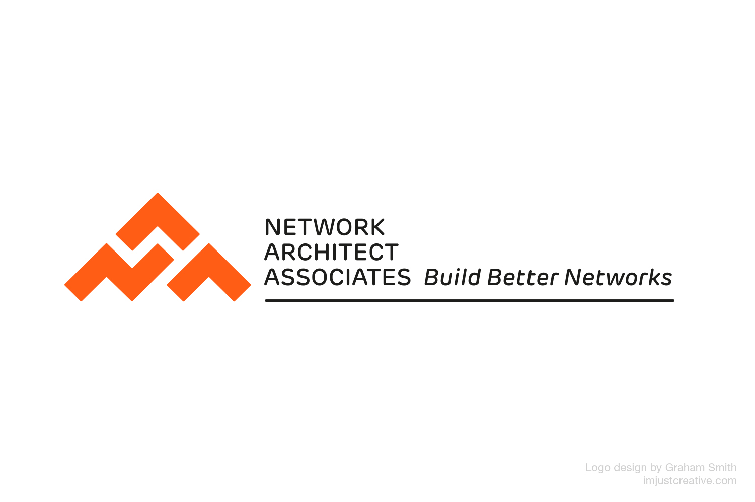 NAA Network Architect Associates logo designed by Graham Smith