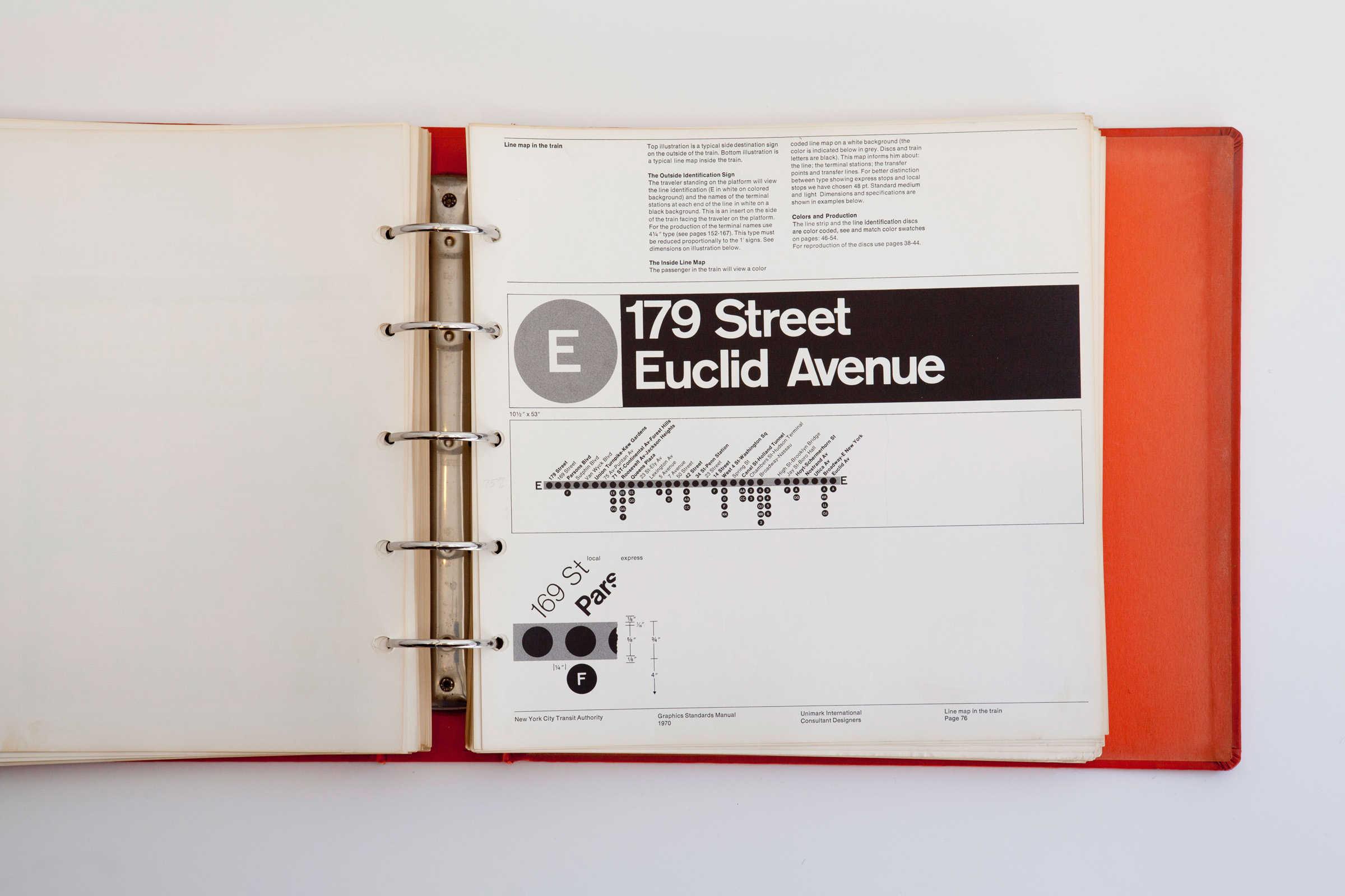 New York City Transit Graphics Manual 3