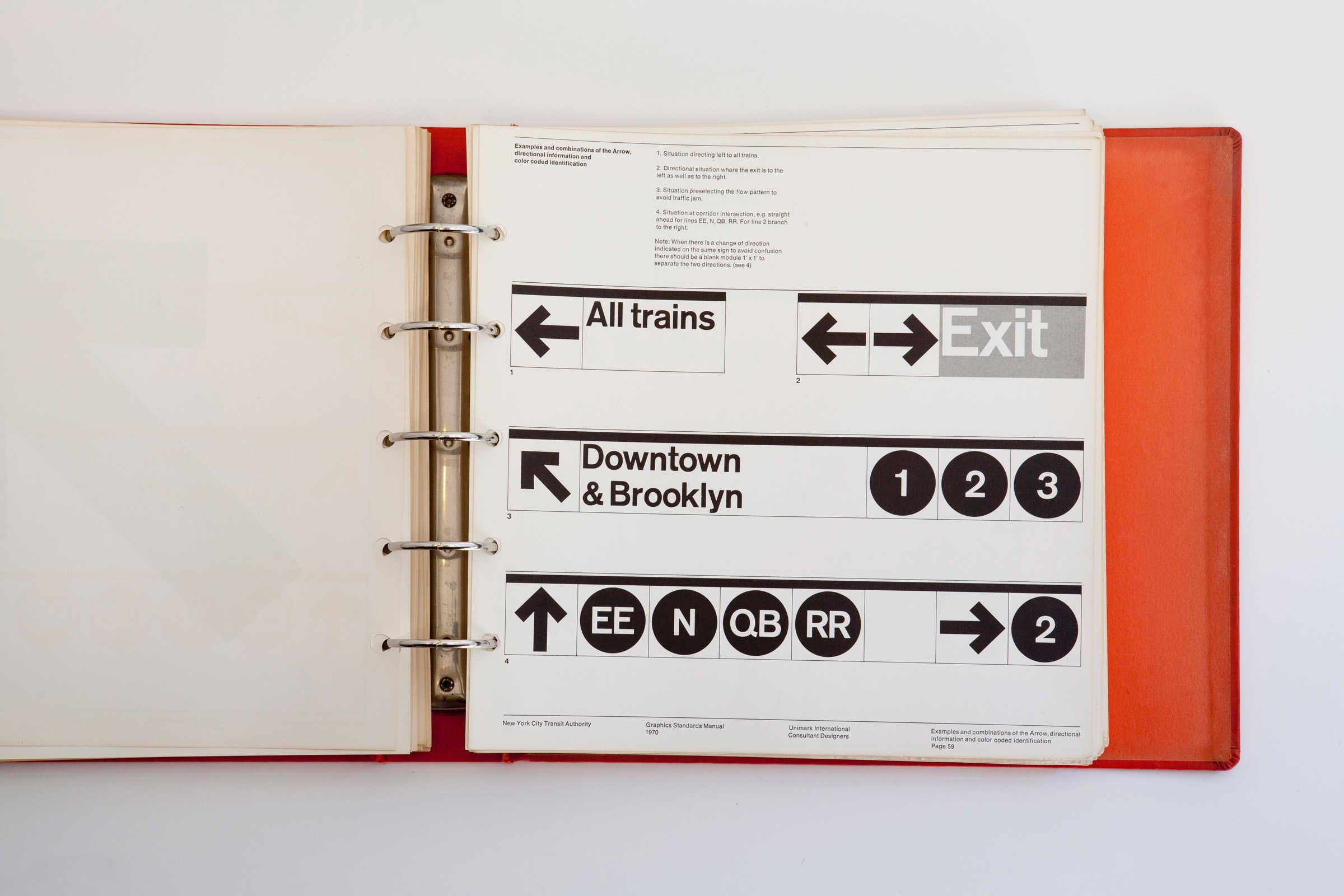 New York City Transit Graphics Manual 4