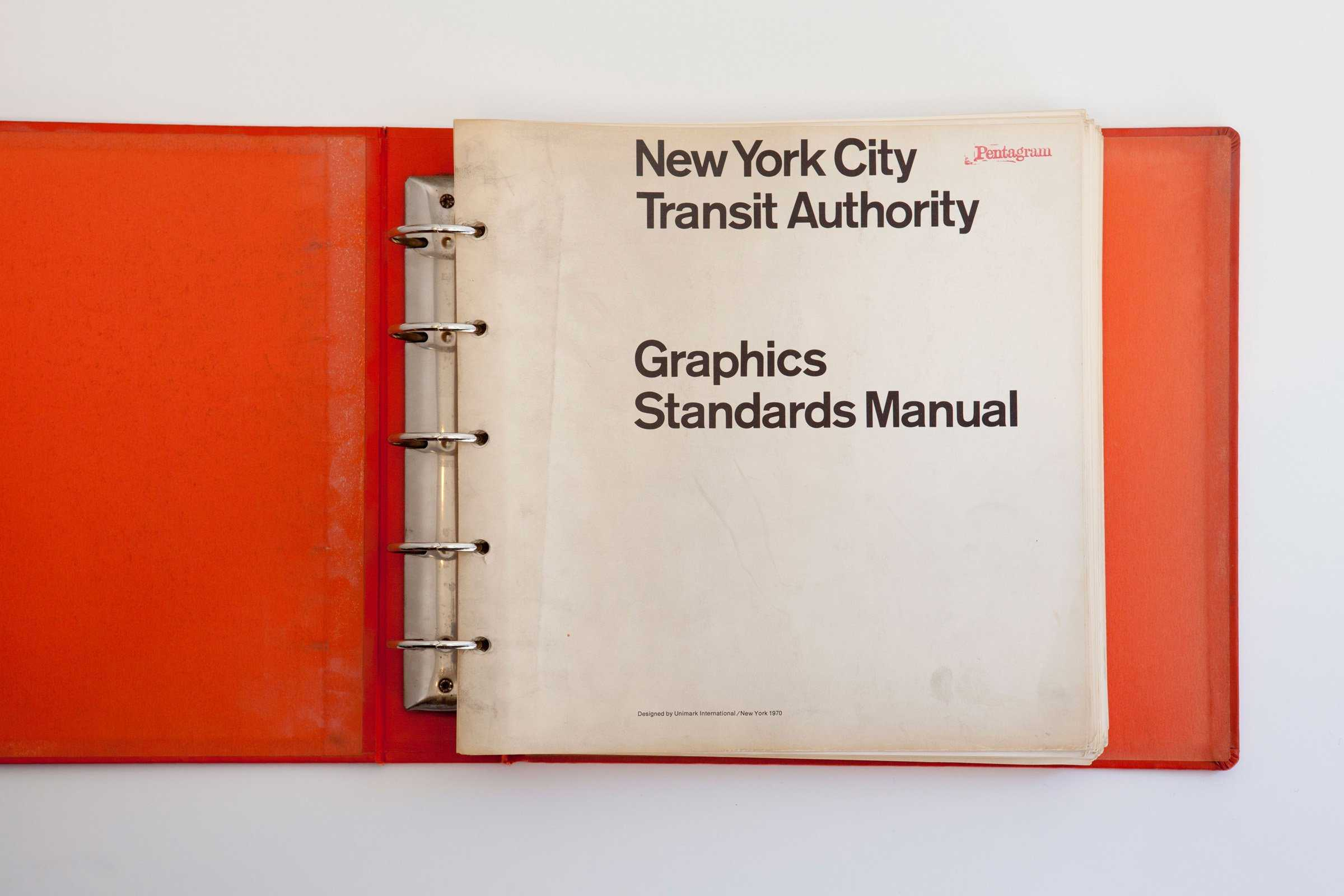 New York City Transit Graphics Manual