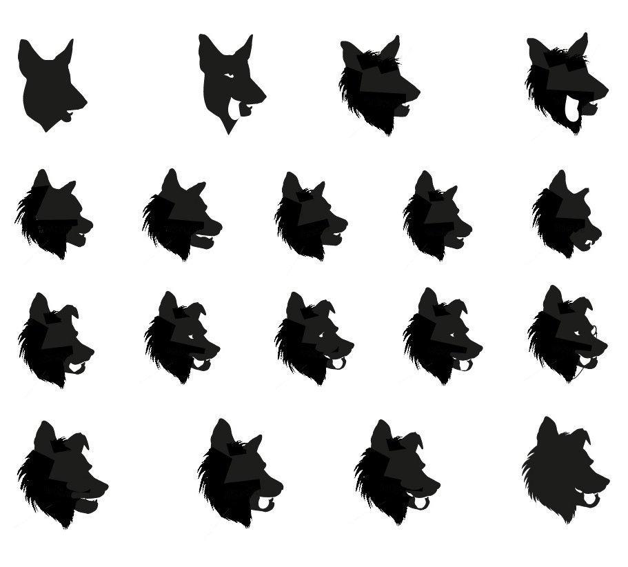 MoleseyCo Logo Mascot Evolution
