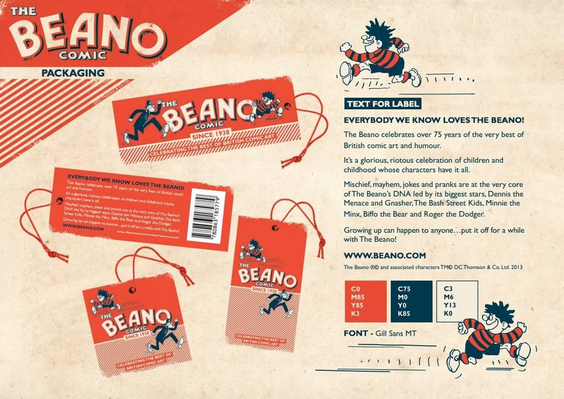 Beano Brand Identity Manual 1