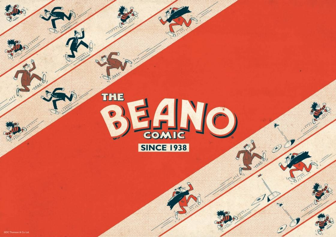 Retro Beano Brand Identity Manual by Wayne Hemingway